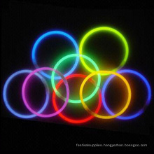 "high qualiy 8"" glow bracelet"